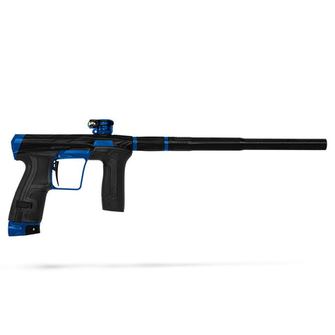 Invader CS2 Pro  - Sapphire - Dust Black/ Blue - New Breed Paintball & Airsoft