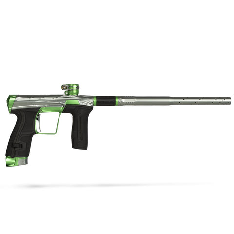 Invader CS2 Pro  - Energy - Dust Pewter/ Green - New Breed Paintball & Airsoft