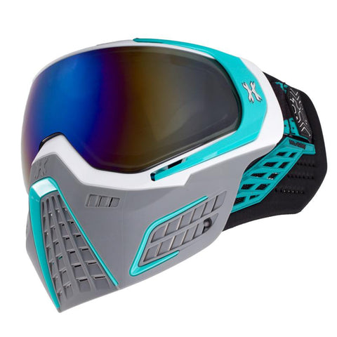 KLR Goggle Slate (White/Teal) - New Breed Paintball & Airsoft