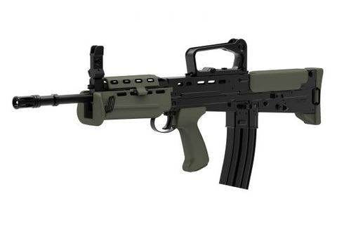 L85 Carbine ETU-Black/OD - New Breed Paintball & Airsoft