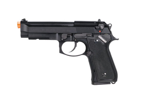 KWA M9 PTP Tactical GBB Pistol - Black
