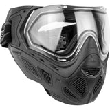 Valken Profit Mask with Quick Change Foam and Lens - Black