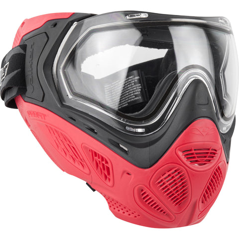 Valken Profit Mask with Quick Change Foam and Lens - Red