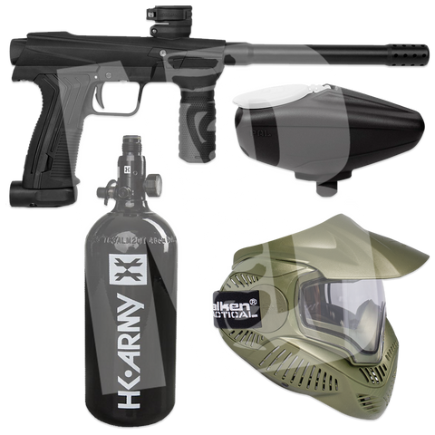 Planet Eclipse EMEK 100 PAL - Starter Paintball Package - Mask/Loader/Tank
