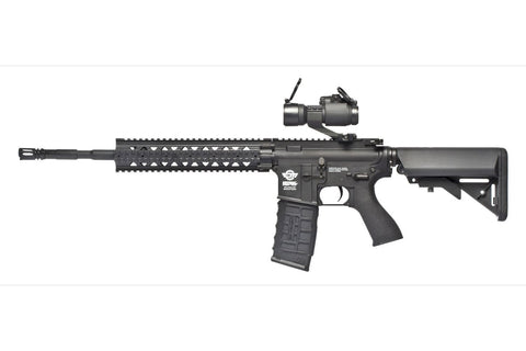 CM16 R8-L Combo-Black (with 9.6v Nunchuck & Charger) (w/ G-12-008 Dot Sight) - New Breed Paintball & Airsoft