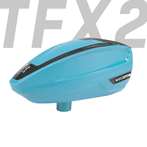 TFX 2 Loader - Turquoise/Black - New Breed Paintball & Airsoft