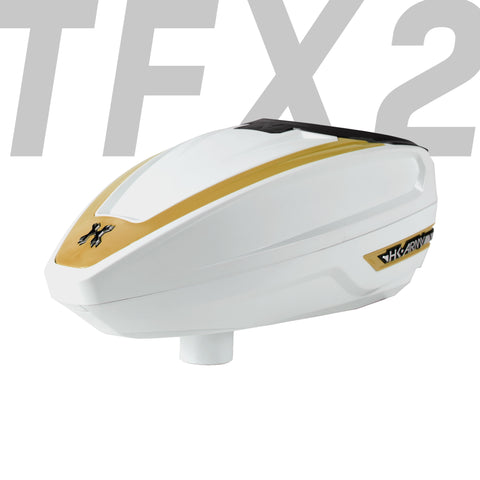 TFX 2 Loader - White/Gold - New Breed Paintball & Airsoft