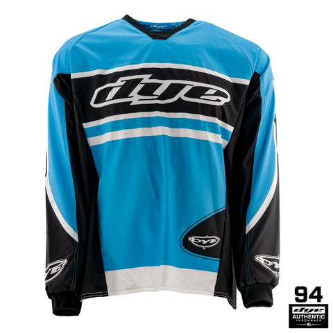 Throwback Flow Jersey - Cyan - New Breed Paintball & Airsoft