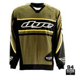 Throwback Flow Jersey - Olive - New Breed Paintball & Airsoft
