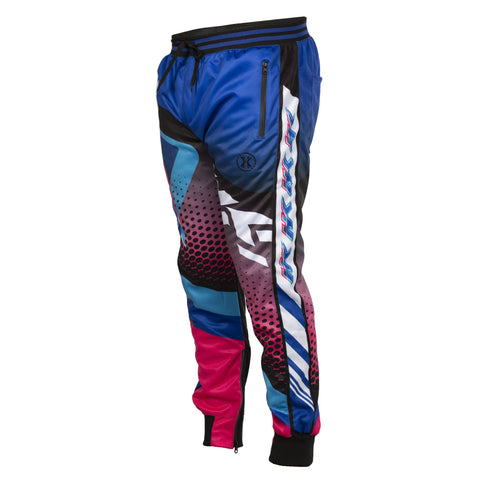 Retro - Blue/Pink - Track Jogger Pants - New Breed Paintball & Airsoft