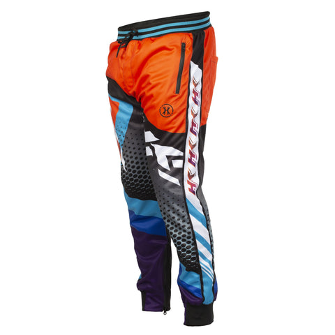 Retro - Orange/Teal - Track Jogger Pants - New Breed Paintball & Airsoft