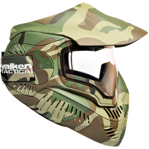 Valken MI-7 Dual Pane Thermal Mask - Woodland