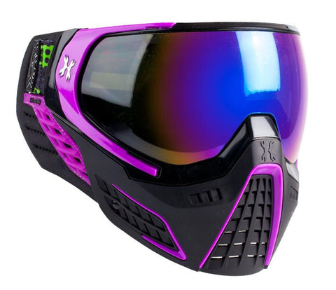 KLR Goggle Argon (Black/Purple - Cobalt Lens) - New Breed Paintball & Airsoft