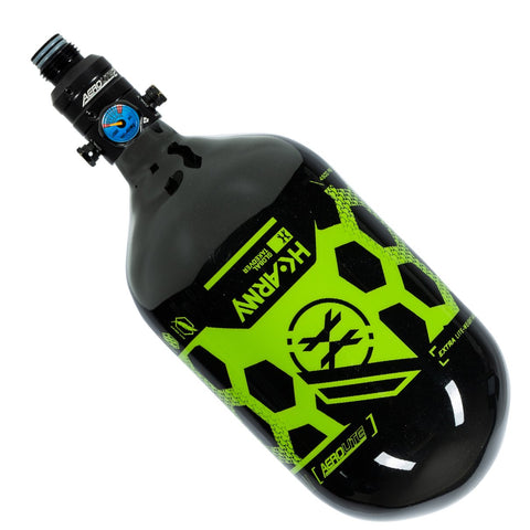 HK Army Extra Lite Carbon Fiber 68/4500 Tank with V2 Pro Reg - Hex - Black/Neon Green