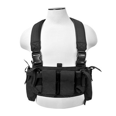 NcStar VISM Ultimate Chest Rig - Black