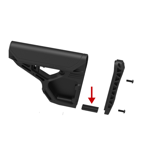 DAM Skid Plate - Black - New Breed Paintball & Airsoft