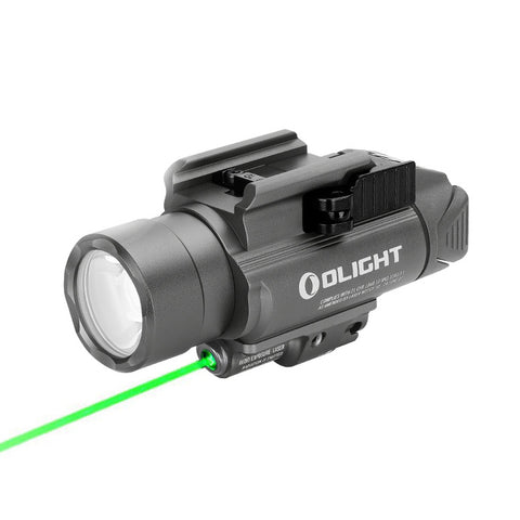 Olight Baldr Pro - Gunmetal Grey - Rail Mounted Laser Flashlight