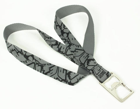 Planet Eclipse Fighter Bottle Opener Lanyard - Grey/Black