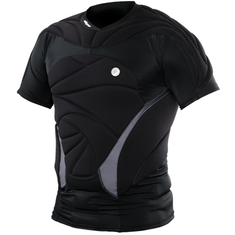 Padded Performance Top - Black - New Breed Paintball & Airsoft