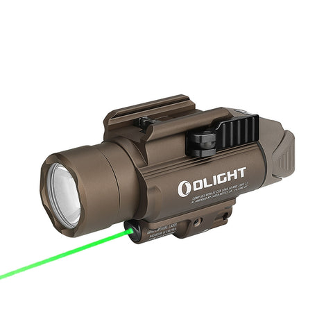 Olight Baldr Pro - Desert Tan - Rail Mounted Laser Flashlight