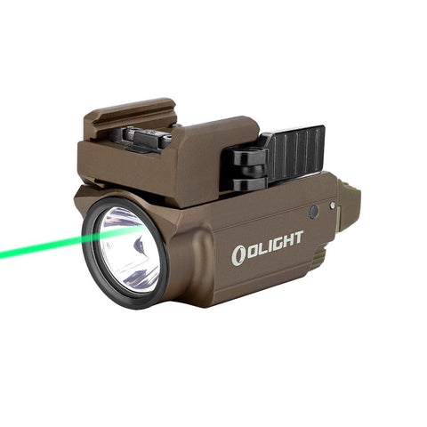 Olight Baldr Mini - Desert Tan - Rail Mounted Laser Flashlight