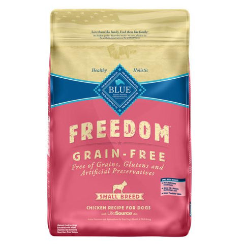Blue Buffalo BLUE Freedom Grain Free Chicken Small Breed Adult Dog Food