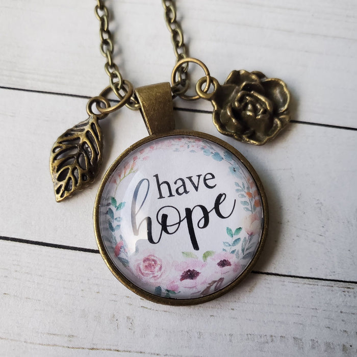 Have Hope - Pendant Necklace