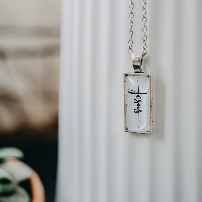 Jesus (Cross) - Pendant Necklace