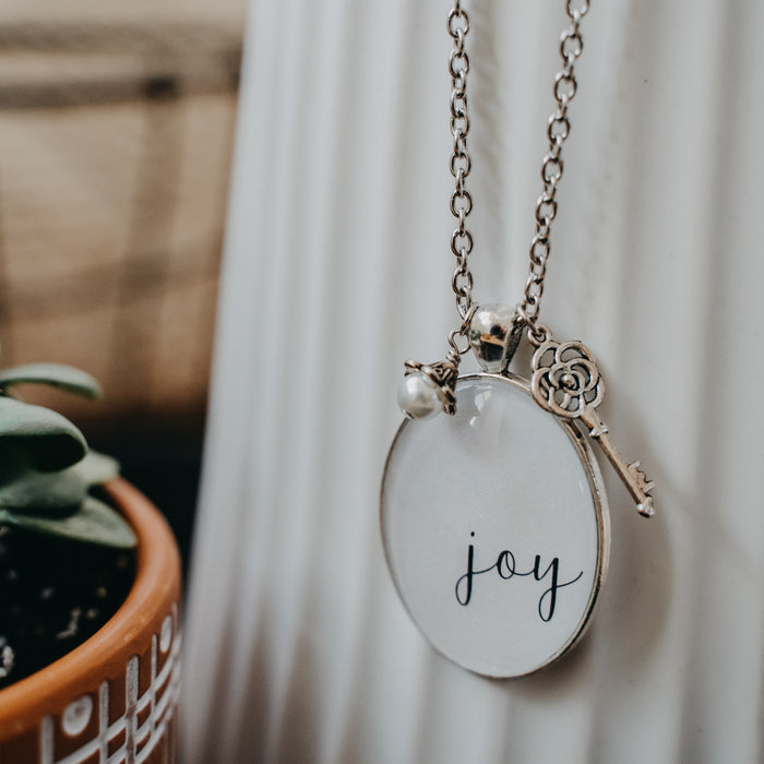 Joy (Shimmer) - Pendant Necklace