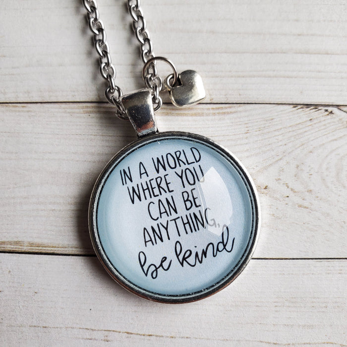 Be Kind - Pendant Necklace