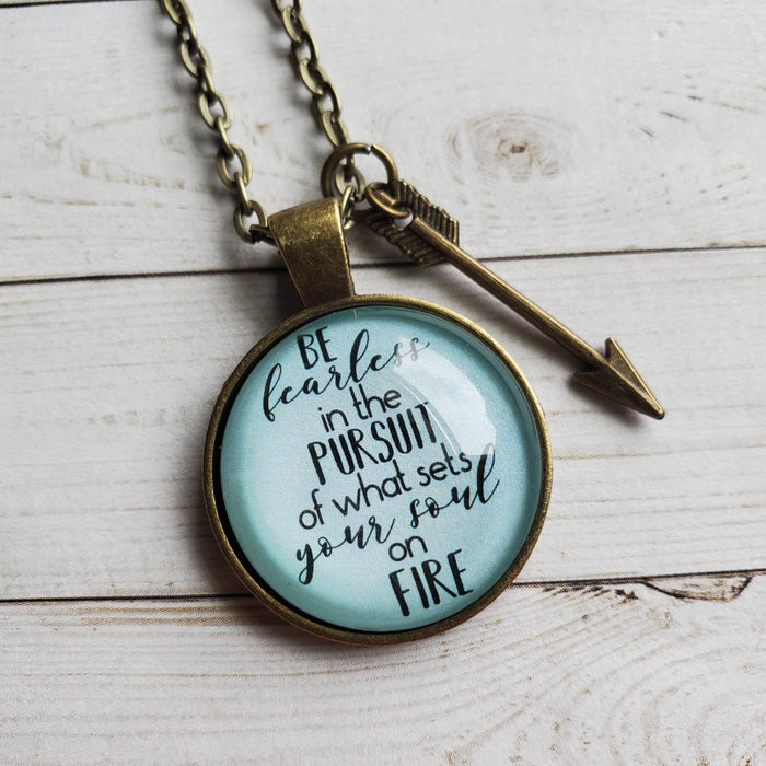 Be Fearless - Pendant Necklace