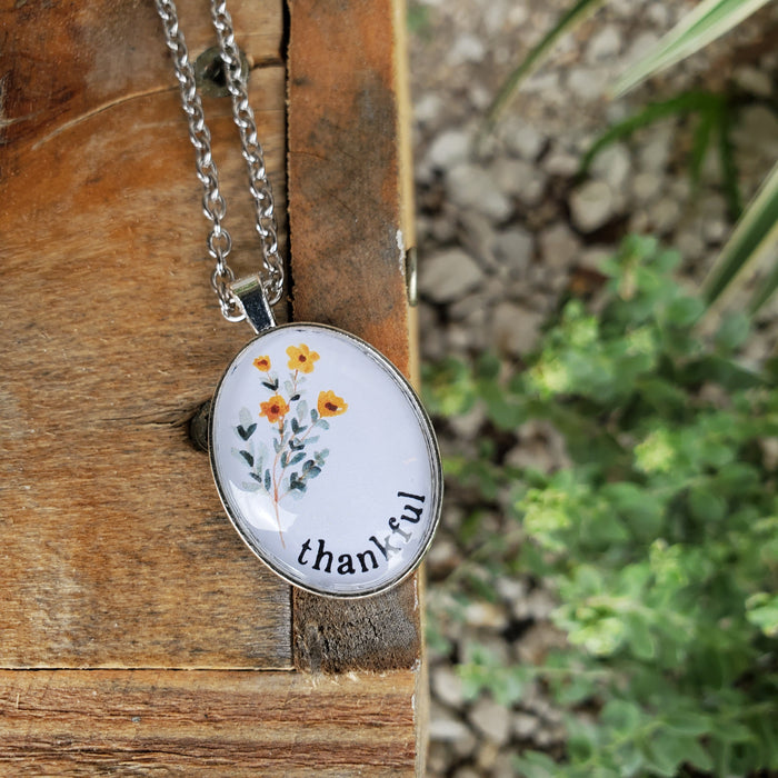 Thankful - Pendant Necklace