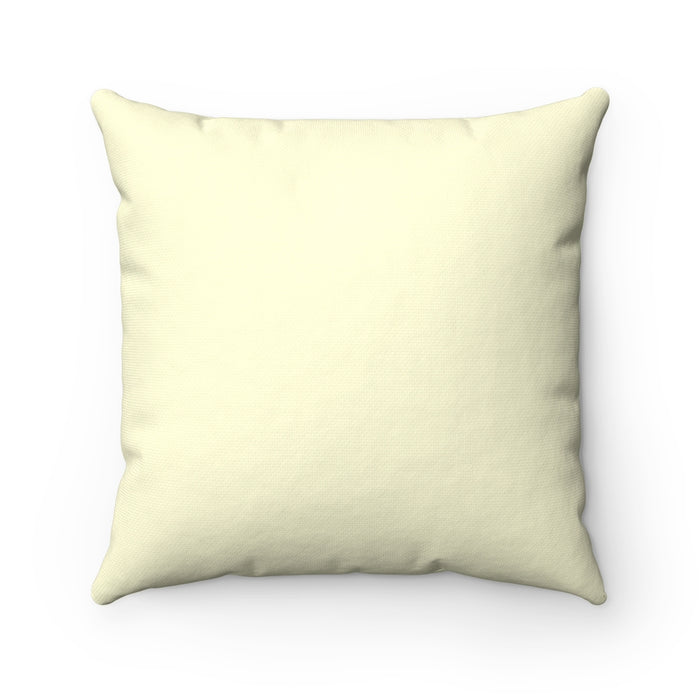 Love Grows Best in Little Houses - Square Pillow