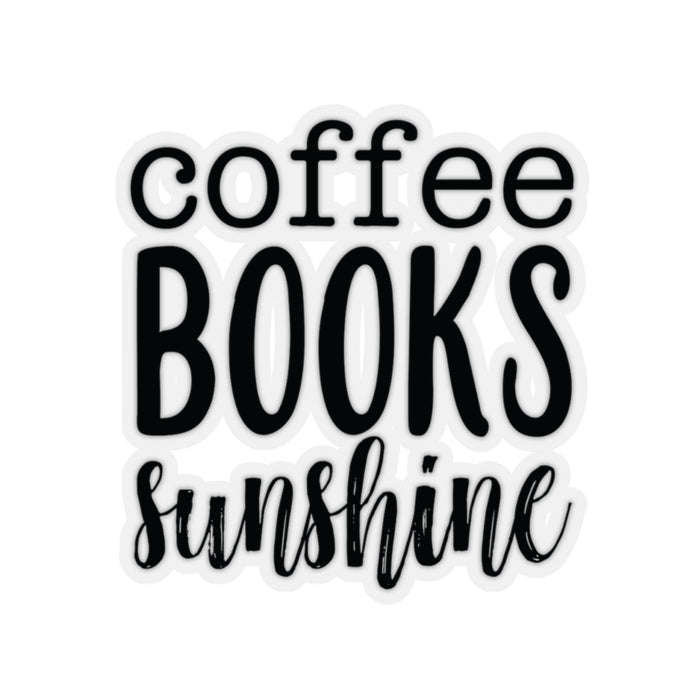 Coffee Books Sunshine - Sticker