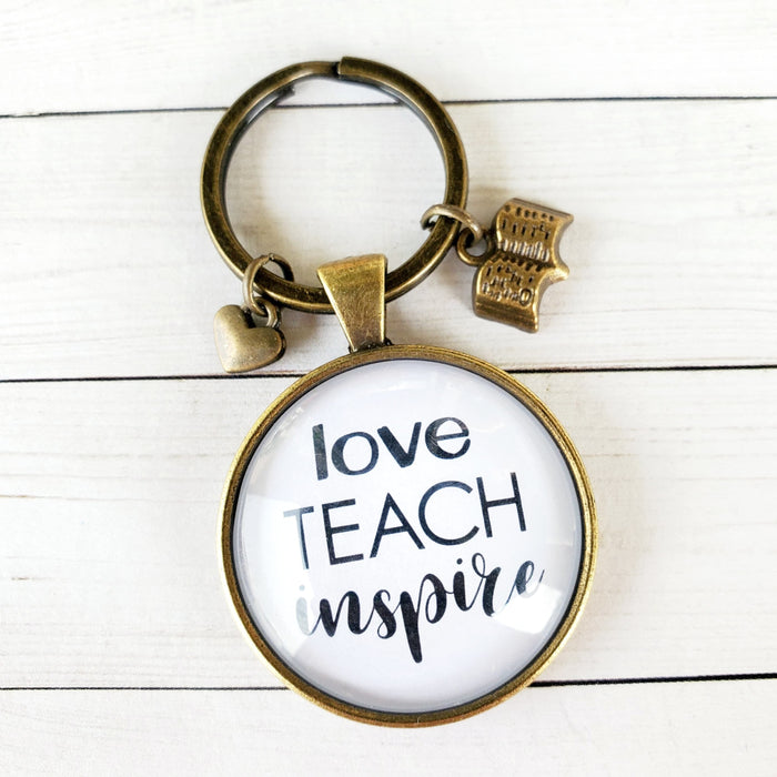 Teacher Pendant Keychain