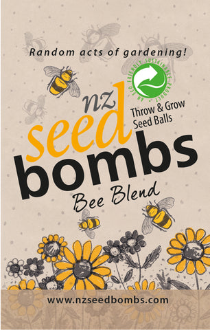 NZ Seed Bombs - Bee Blend