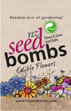 NZ Seed Bombs - Edible Flowers