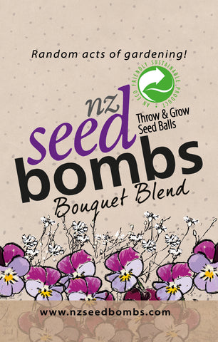 NZ Seed Bombs - Bouquet Blend