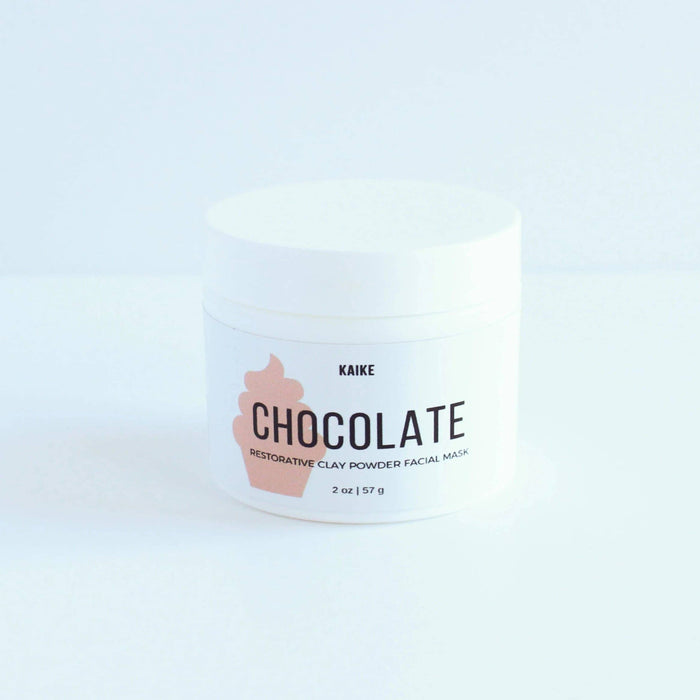 Chocolate Clay Mask and Scrub