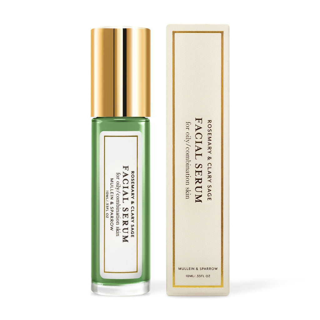 Mullein & Sparrow - Rosemary & Clary Sage Facial Serum