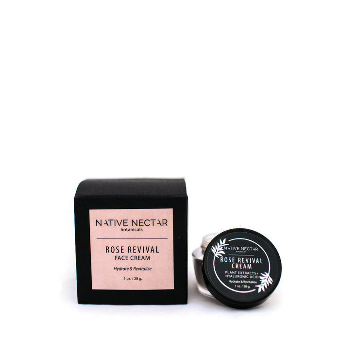 Native Nectar Botanicals - Rose Revival Cream