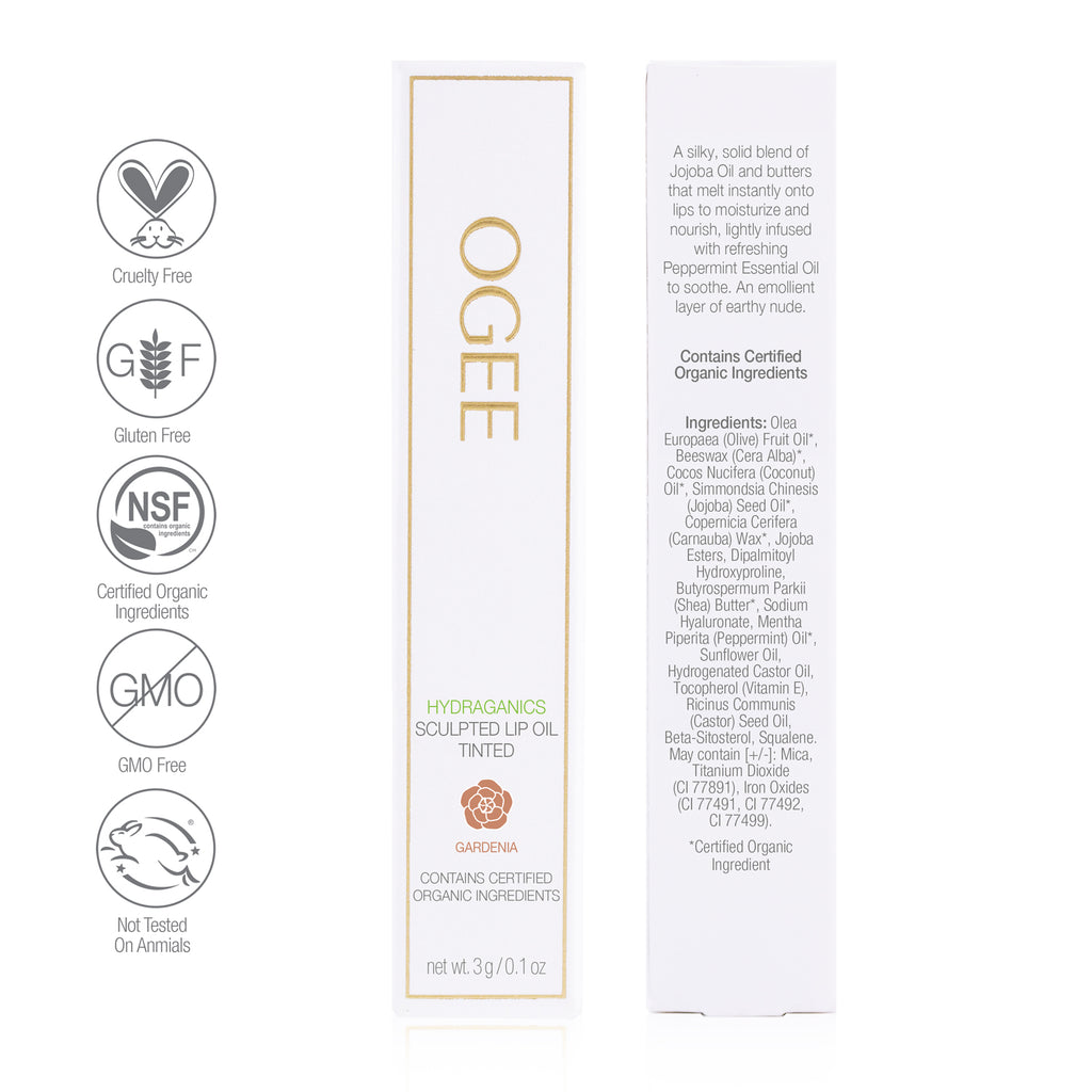 Ogee - Tinted Sculpted Lip Oil - Gardenia