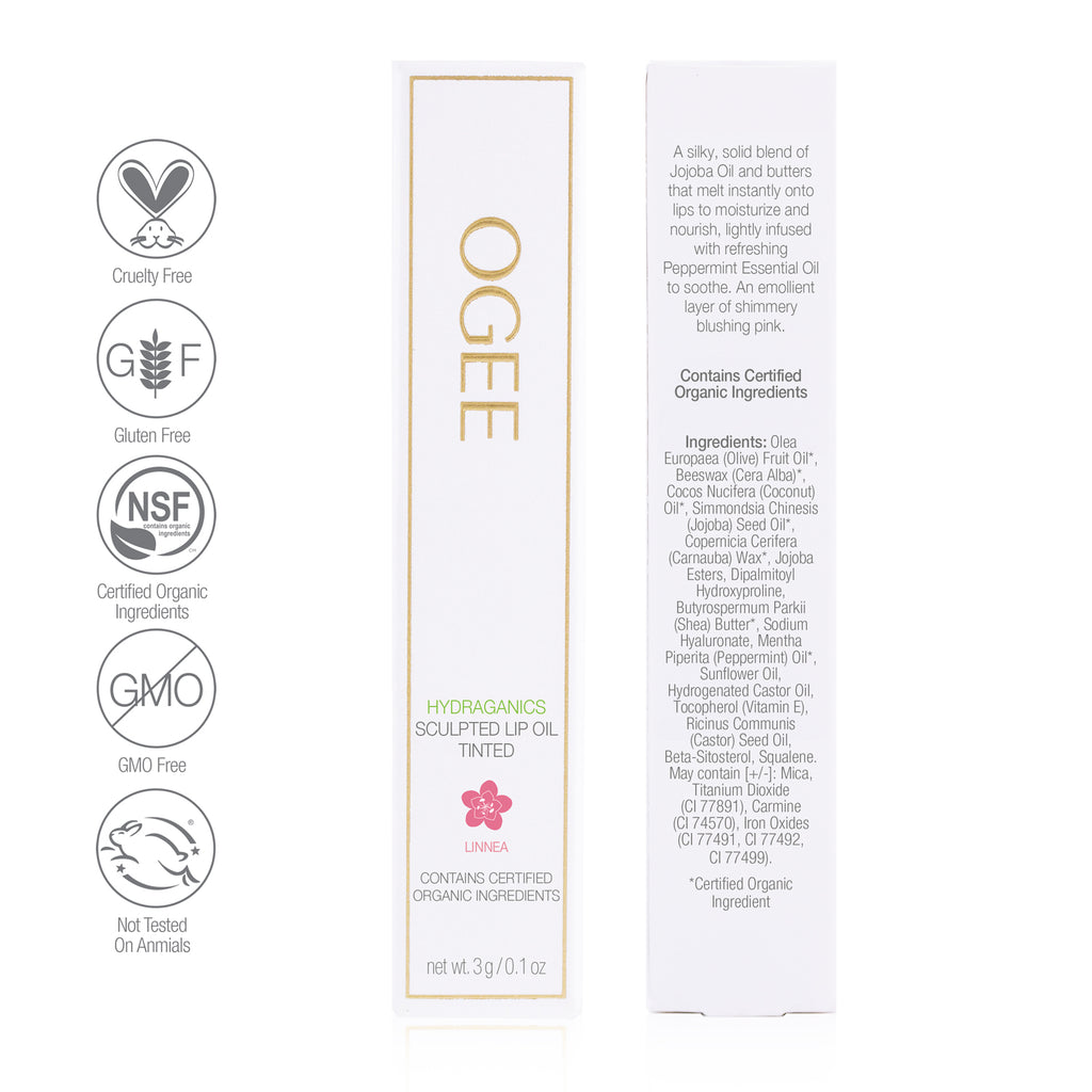 Ogee - Tinted Sculpted Lip Oil - Linnea