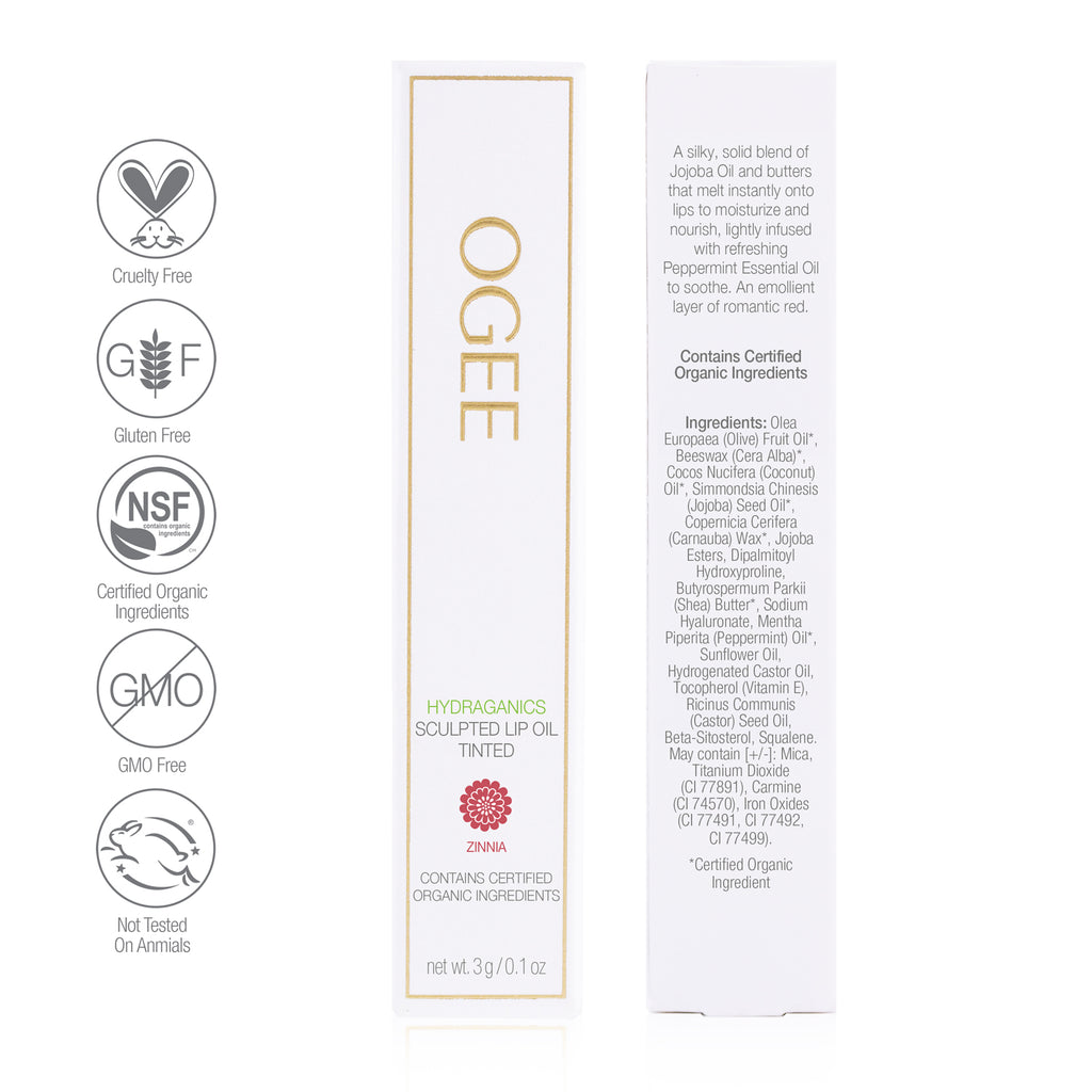 Ogee - Tinted Sculpted Lip Oil - Zinnia
