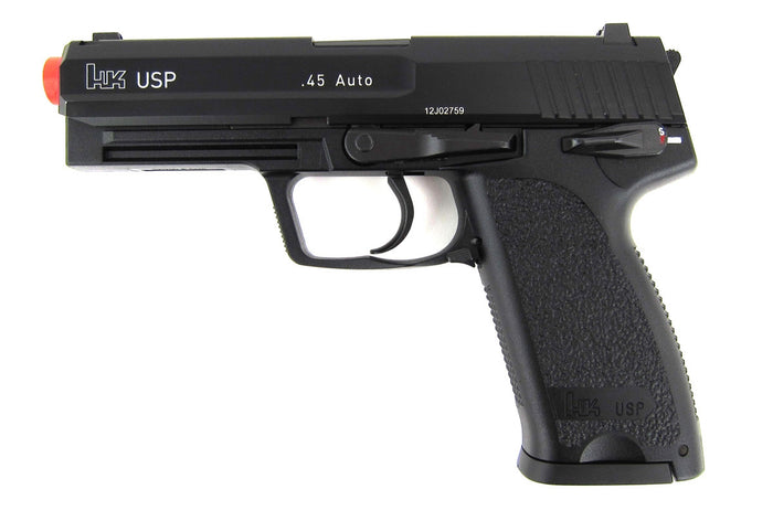 KWA HK USP GBB Green Gas Pistol - Black