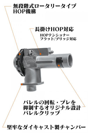 Prometheus M4 Rotary Hop Up Chamber (Wide Use)