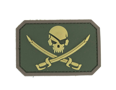 MSM PirateSkull Patch - PVC