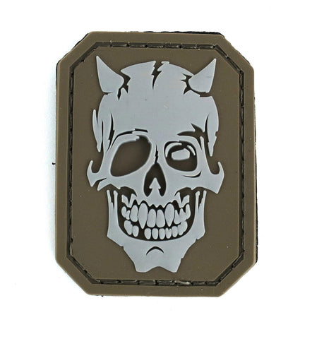 MSM Devil Skull Patch - PVC