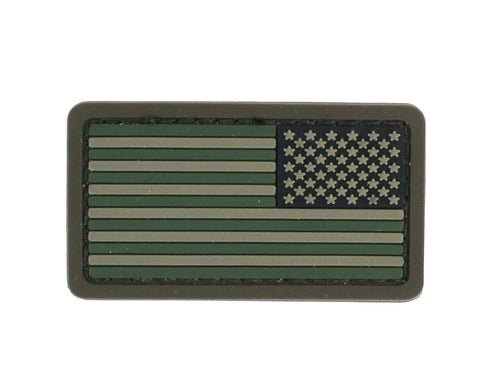 MSM US Flag Reverse Mini Patch - PVC