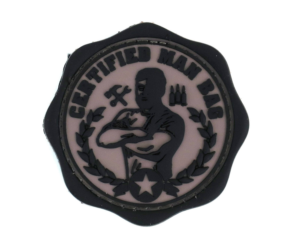 MSM Man Bag Patch - PVC